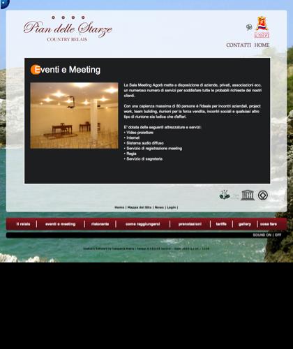 Eventi E Meeting - Hotel Relais Pian Delle Starze - Intro