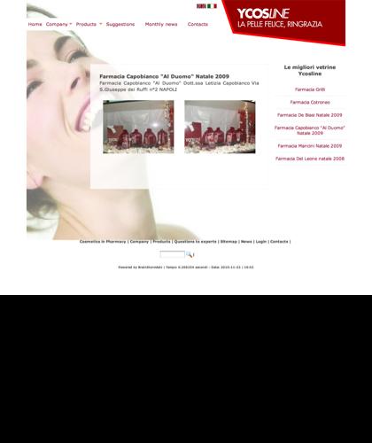 Ycosline Prodotti Viso - Farmacia Capobianco