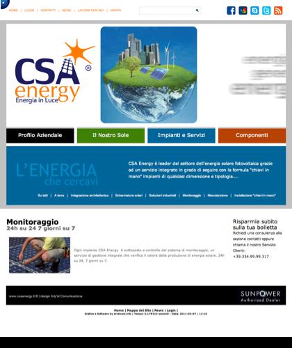 Monitoraggio - Csa Fotovoltaico - Energia In Luce