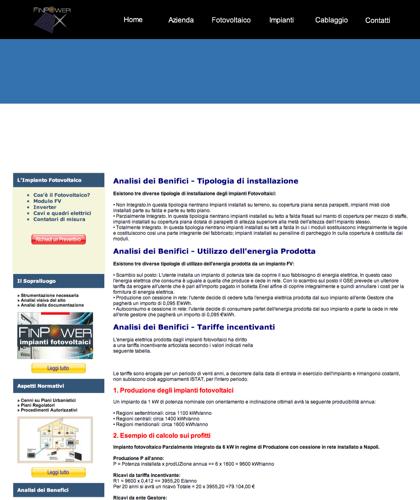 Analisi Dei Benefici - Finpower Impianti - Cenni Su Piani Urbanistici, Procedimenti Autorizzativi