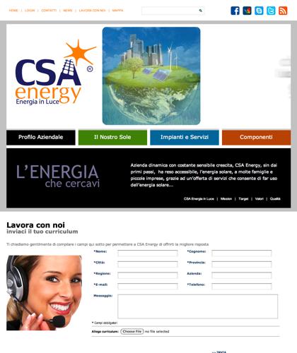 Lavora Con Noi - Csa Fotovoltaico - Energia In Luce