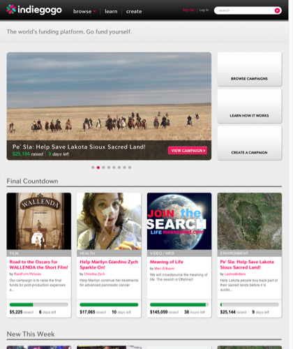 Indiegogo: An International Crowdfunding Platform To Raise Money | Indiegogo