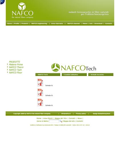 Nafco Tech - Schede Tecniche - Nafco - Soluzioni Ecocompatibili Ad Altissime Prestazioni