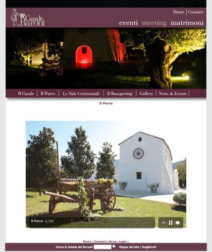 Galleria Il Parco - Casale Dei Baroni - Matrimoni, Location, Ville, Casali, Residenze, Tenute, Sposi, Ricevimenti, Masserie, Nozze, Wedding Planners, Catering, Banqueting, Agriturismo, Bed & Breakfast