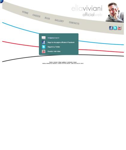I Miei Contatti - Elia Viviani - Segui Elia Su Facebook, Twitter, Youtube E Google