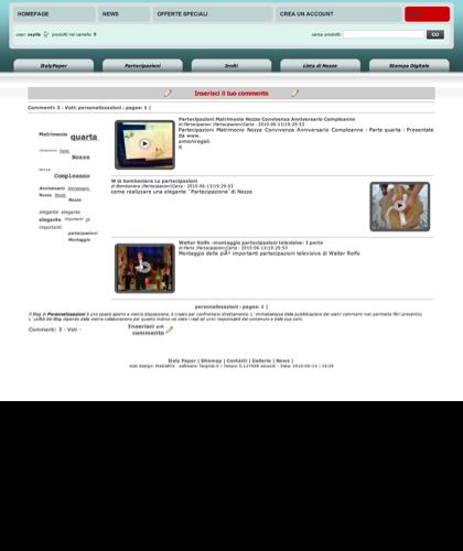 Personalizzazione - Italy Paper - Scegli La Grafica E Il Modello Della Tua Partecipazione O Invito E Personalizzala Con I Tuoi Dati Per Avere Una Anteprima Del Prodotto Finito E Stampato Con I Colori Di Tua Preferenza.