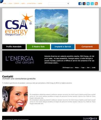 Contatti - Csa Fotovoltaico - Energia In Luce