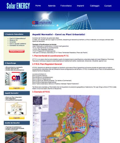 Aspetti Normativi - Cm Impianti - Cenni Su Piani Urbanistici, Procedimenti Autorizzativi