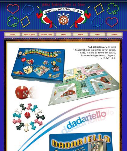 Dadariello - Muoiocartedagioco - Muoio Carte Da Gioco -  Carte Plastificate - Carte Regionali - Carte Personalizzate - Giochi Di Società - Dadi Fichese Astucci