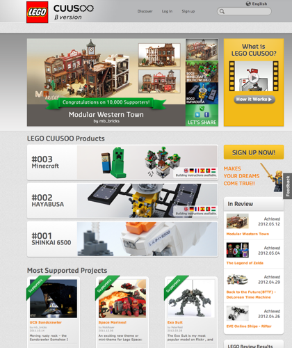 Share Your Ideas For Lego Set Concepts, Get Others To Vote For Your Idea, And You Might See Your Idea Produced As A Real Lego Product!|Lego, Lego Brick, Cuusoo, Wish, Commercialization, Product Development, Idea, Support, Design