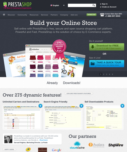 Prestashop - Start An Online Store Today With Prestashop's Free Open-source Ecommerce Software