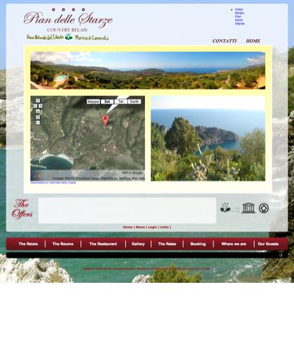 Reach Us - Hotel Relais Pian Delle Starze - Intro