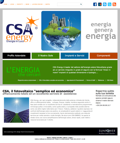 Csa, Il Fotovoltaico Semplice Ed Economico - Csa Fotovoltaico - Energia In Luce