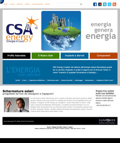 Schermature Solari - Csa Fotovoltaico - Energia In Luce