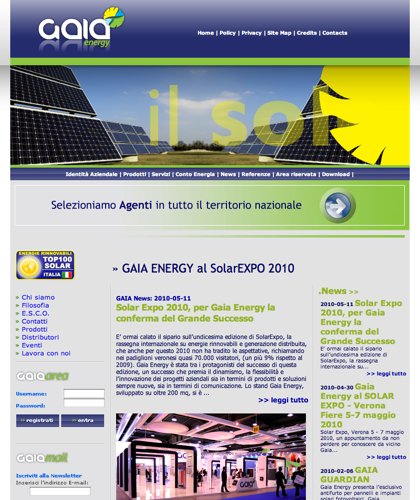 Energia Caserta Gaia - Gaia Energy - Gaia Energy