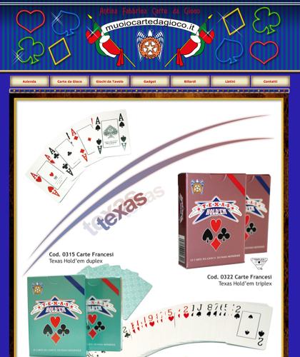 Carte Texas - Muoiocartedagioco - Muoio Carte Da Gioco -  Carte Plastificate - Carte Regionali - Carte Personalizzate - Giochi Di Societ� - Dadi Fichese Astucci