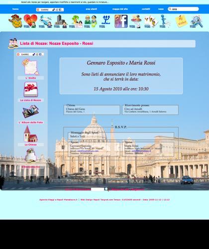 Lista Nozze - San Pietro - Viaggi Vacanze Mamatours - Lista Di Nozze Mamatours