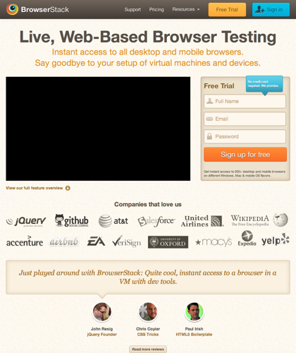 Cross Browser Testing Tool. 200+ Browsers, Mobile, Real Ie.