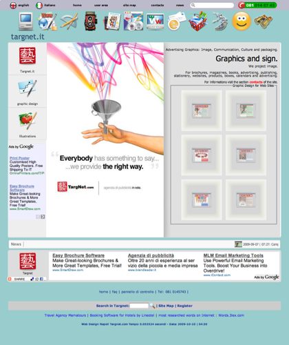 Graphics And Illustrations Made In Italy - Software Ecommerce In Italia Targnet - Create Targnet Graphics And Illustrations For Magazines, Books, School Edition, Brochures, Leaflets And Public Road, In Campania Posting Circuits 6x3 And 100x140
