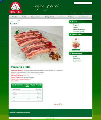 Freschi - Pancetta A Fette - Rosotta - Rosotta Salumificio Dal 1962
