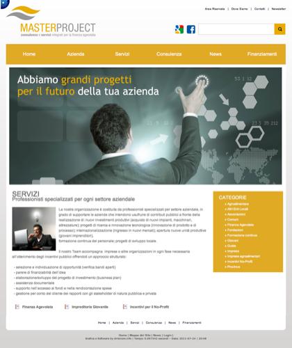 Servizi - Master Project - Consulenza E Servizi Integrati Per La Finanza Agevolata