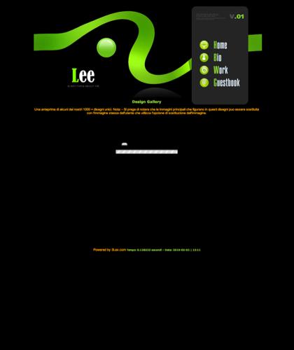 Web Design Gallery -  - Lee - 在小的分鐘創建擁有網站! 對低成本和容易修建,站點萬維網,&#22312