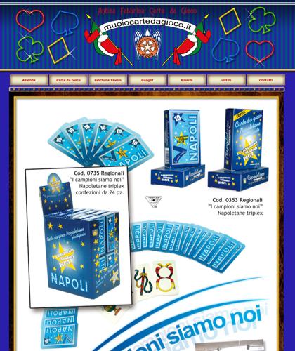 Carte Da Gioco Campioni - Muoiocartedagioco - Muoio Carte Da Gioco -  Carte Plastificate - Carte Regionali - Carte Personalizzate - Giochi Di Società - Dadi Fichese Astucci