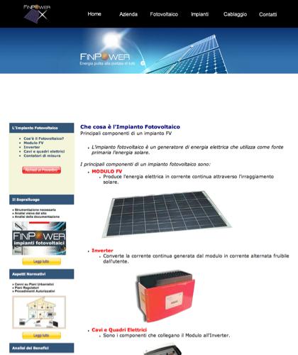 Cosa è Un Impianto Fotovoltaico - Finpower Impianti Fotovoltaici - Finpower Impianti - Energia Solare Impianti Elettrici Cablaggio Strutturato
