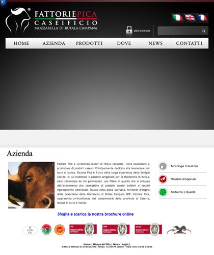 Fattorie Pica Company Profile  - Fattorie Pica - Mozzarella Di Bufala Campania