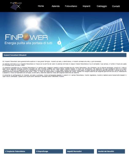 Finpower Impianti Fotovoltaici - Finpower Impianti - Finpower Impianti Energia Solare Portici Napoli Campania