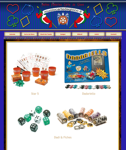 Giochi Da Tavolo - Muoiocartedagioco - Muoio Carte Da Gioco -  Carte Plastificate - Carte Regionali - Carte Personalizzate - Giochi Di Società - Dadi Fichese Astucci