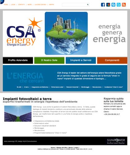 Impianti Fotovoltaici A Terra - Csa Fotovoltaico - Energia In Luce
