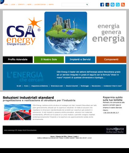 Soluzioni Industriali Standard - Csa Fotovoltaico - Energia In Luce