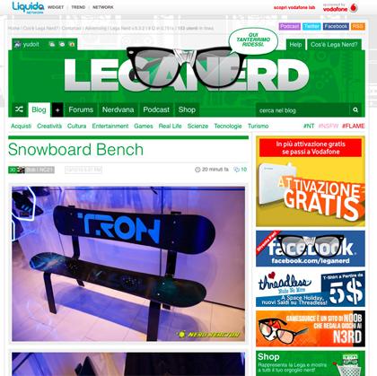 Lega Nerd | Liveblog Scritto Da Nerd.