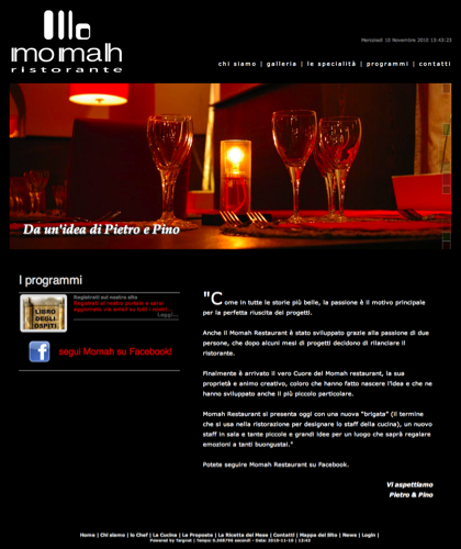 Momah Ristorante Napoli - Chi Siamo - Ristorante Momah - Momah Ristorante Napoli