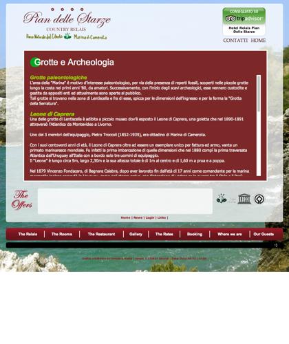 Grotte E Archeologia - Hotel Relais Pian Delle Starze - Intro