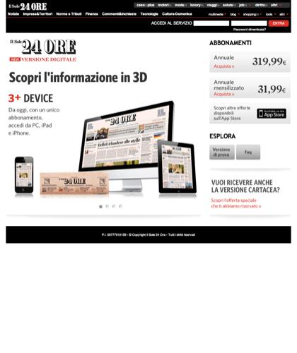 Il Sole 24 Ore - Edizione Digitale