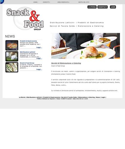 Ristorazione E Catering Snack & Food - Snack & Food - Snack & Food Group  Da Oltre 10 Anni Fornisce Servizi Professionali Di Distribuzione A Commercianti E Utenti Finali Di Prodotti Derivati Dal Latte, Prodotti Semilavorati O Finiti, Di Gastronomia, Servi