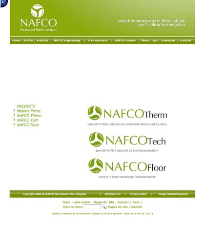 Nafco Therm Prodotti - Nafco - Bioenergia - Efficenza Energetica - Termoisolanti