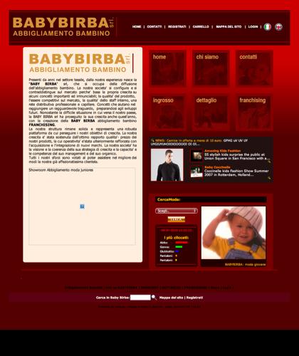 Abbigliamento Bambini Azienda - Baby Birba -  Presenti Da Anni Nel Settore Tessile, Dalla Nostra Esperienza Nasce La Baby Birba Srl, Che Si Occupa Della Diffusione Di Abbigliamento Bambino - Vestitini Per Ragazzi E Ragazze - Moda Junior - Abitini Per Bamb