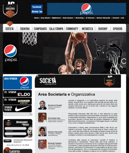 Area Organizzativa - Juvecaserta -  Basket Juventus Caserta Pallacanestro. Associazione Sportiva, Campionato Italiano Basket. International Championship Basket Ball.