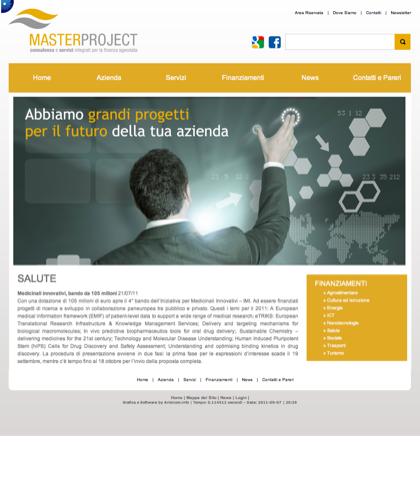 Salute - Master Project - Consulenza E Servizi Integrati Per La Finanza Agevolata