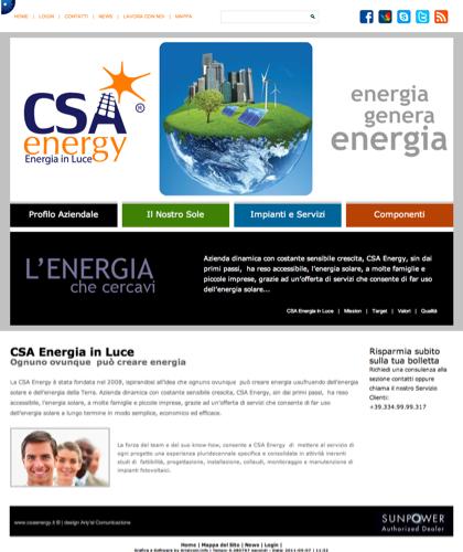 Csa Energia In Luce - Csa Fotovoltaico - Energia In Luce