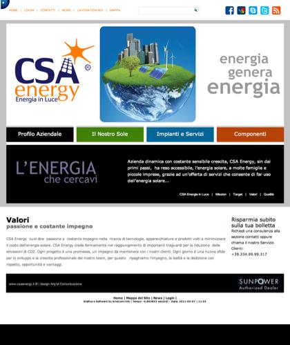 Valori - Csa Fotovoltaico - Energia In Luce