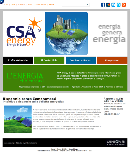 Risparmio Senza Compromessi - Csa Fotovoltaico - Energia In Luce