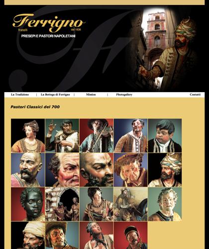 Photogallery - Fratelli Ferrigno - Galleria Fotografica Pastori E Presepi
