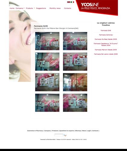 Ycosline Prodotti Viso - Farmacia Grilli - Ycosline - Azienda Che Produce Cosmetici E Prodotti Di Bellezza Per La Pelle. Ycosline Antirughe Fitoendorfine Idratanti Farmacia