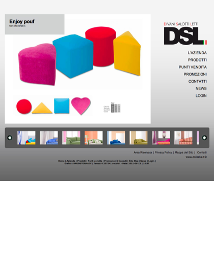 Enjoy Pouf - Divani Salotti Letti - Dsl - Quality Has A Name - Dsl Italia - Enjoy Pouf Non Sfoderabili;