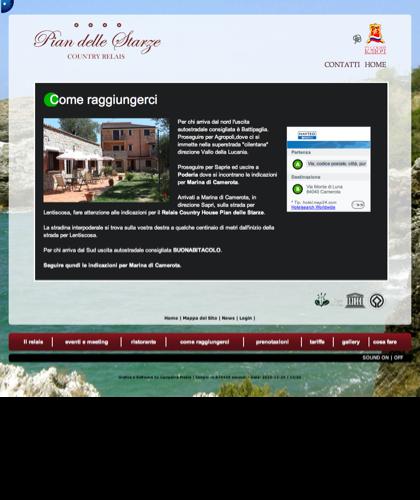 Come Raggiungerci - Hotel Relais Pian Delle Starze - Intro