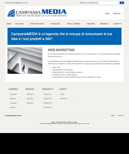 Web Marketing - Campaniamedia - Campania Media - Servizi Avanzati Di Comunicazione